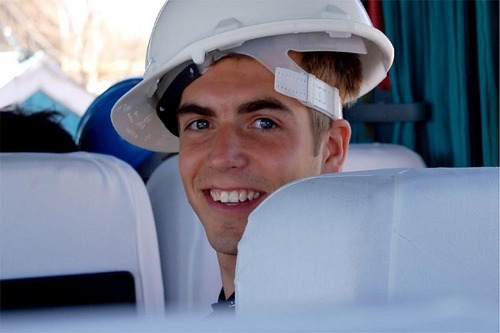 Philipp Lahm in South Africa
