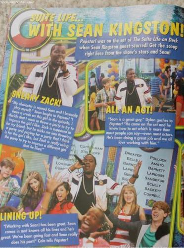 Suite Popstar Scans With Sean Kingston!!!