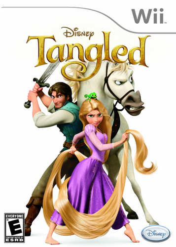 Tangled Wii Game
