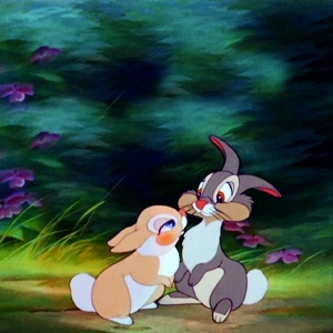 Thumper and his lady ♥