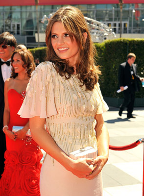 stana at the 62nd Primetime Creative Arts Emmy Awards