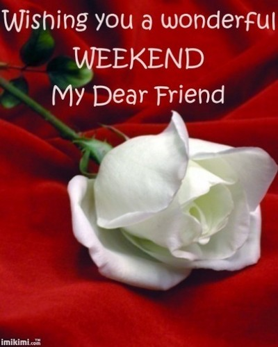 Have A Lovely Weekend Rachel <3