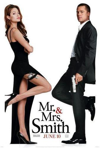 Mr And Mrs Smith wallpaper