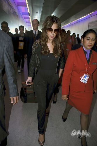 Cheryl Cole at Heathrow airport (September 5)
