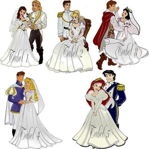 Classic disney weddings