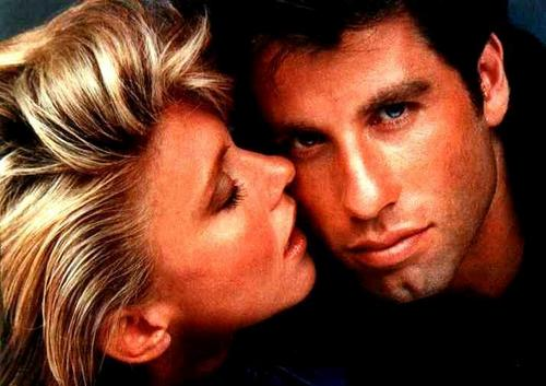 Olivia Newton-John and John Travolta in Two of A Kind