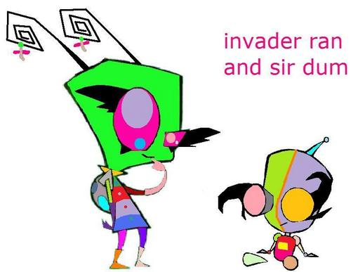 invader ran and S.I.R. dum