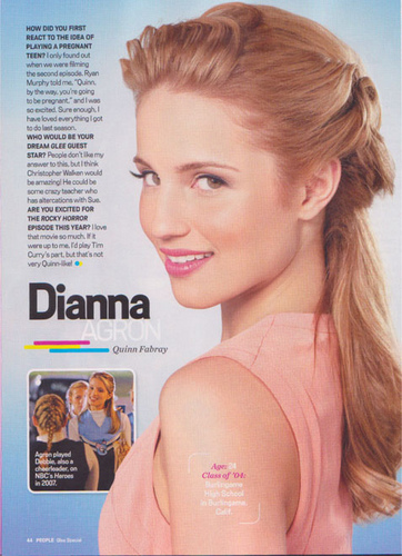 Dianna People mag scans