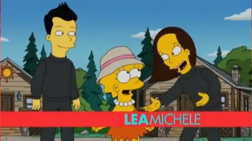 Glee The Simpsons