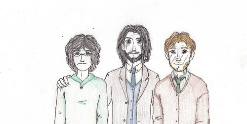 Harry, Sirius and Remus.