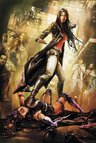 Huntress VS Lady Shiva