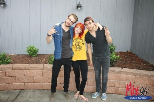 Jeremy, Hayley & Taylor @ Radio Station Meet & Greet