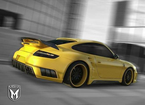 PORSCHE 911 TURBO BY MISHA DESIGN