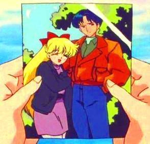 Sailor Venus and Alan
