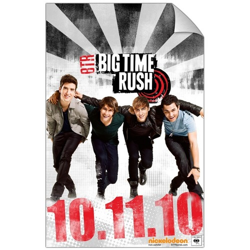 Big Time Rush concierto Poster