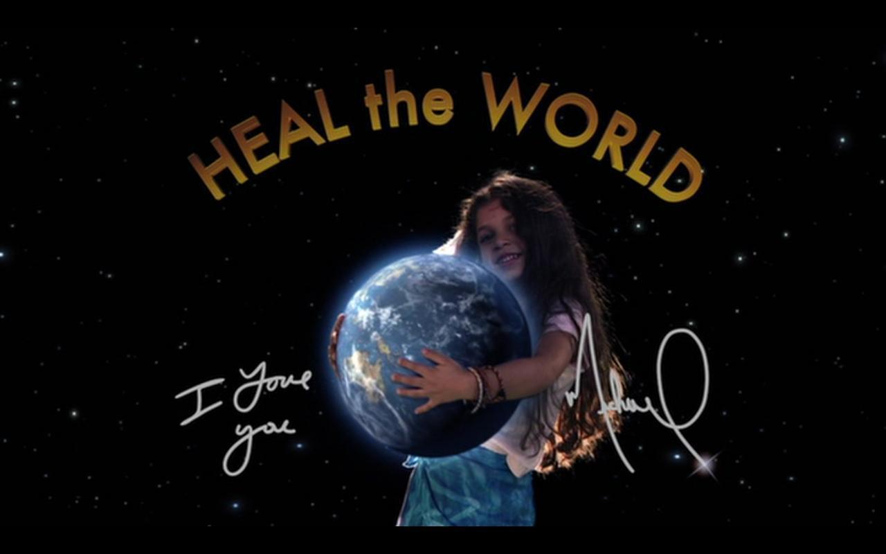Heal The World Michael Jackson Heal The World Wallpaper