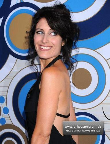 Lisa Edelstein at لومڑی Fall Party 2010