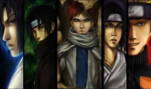 Naruto characters In Final fantasy form jamie38459 15587715 490 290