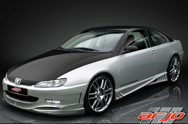 Peugeot 406 coupe, kup TUNING