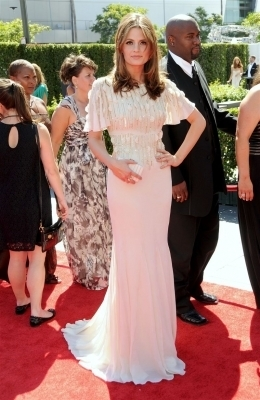 Stana @ 62nd Primetime Creative Arts Emmy Awards - Arrivals