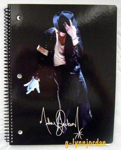 my mj notebooks