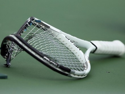 novak racquet US Open