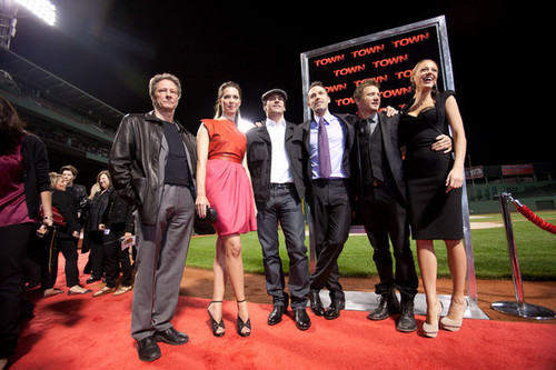 """The Town"" - Boston Premiere - Cast"