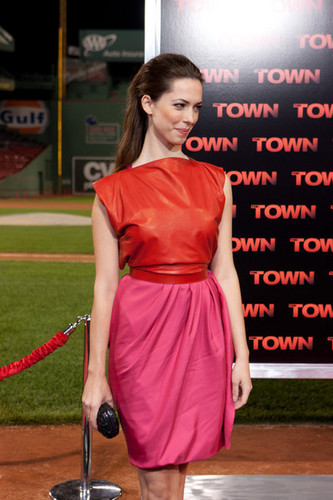 """The Town"" - Boston Premiere - Rebecca Hall"