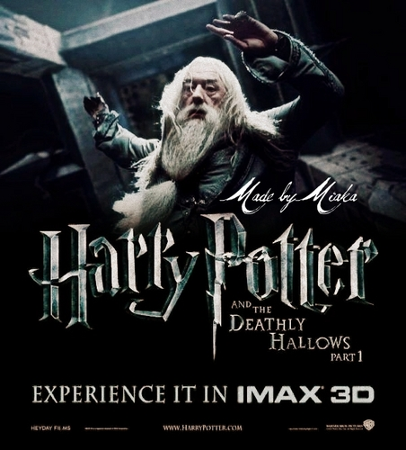 Deathly Hallows: Albus Dumbledore Fanmade Poster