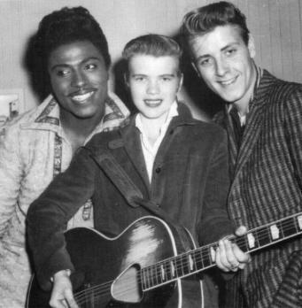 Little Richard, Alis Lesley, Eddie Cochran