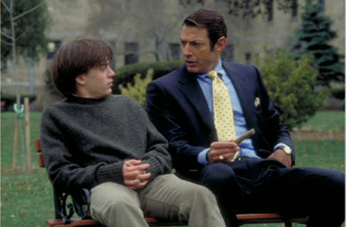 Behind the Scenes: Kieran Culkin & Jeff Goldblum