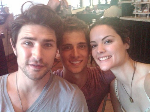 Jaimie & Matt having lunch and fun (2010)