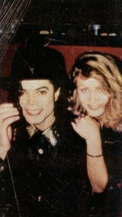 MJ & cute blondie (is she Karen?!)