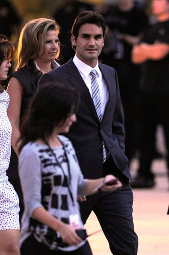Roger Federer fashion Night