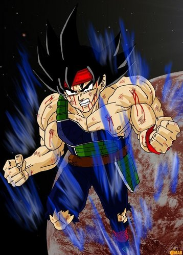 Bardock charging straight for you!