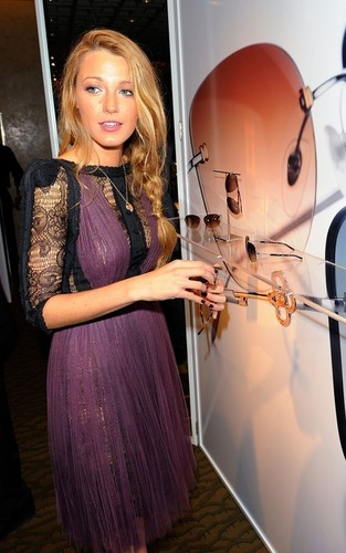 Blake @  Spring 2011 Eyewear collection launch at Tiffany & Co