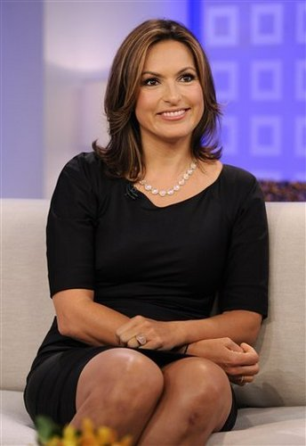 Mariska on the today show
