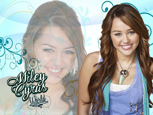 Miley World (New Series) 壁纸 1 as a part of 100 days of hannah 由 dj!!!!!!!!!