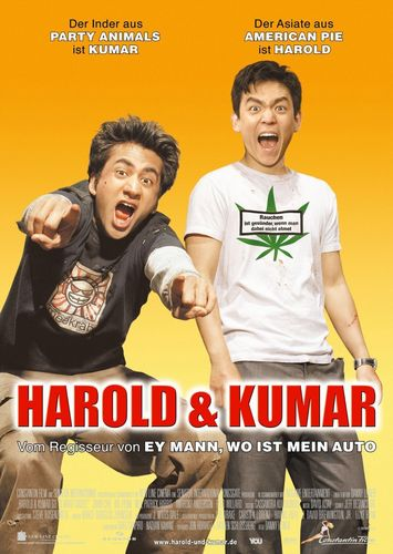 'Harold & Kumar Go To White Castle' Promotional Poster