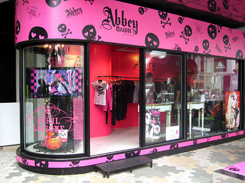 Abbey Dawn Store in Japan