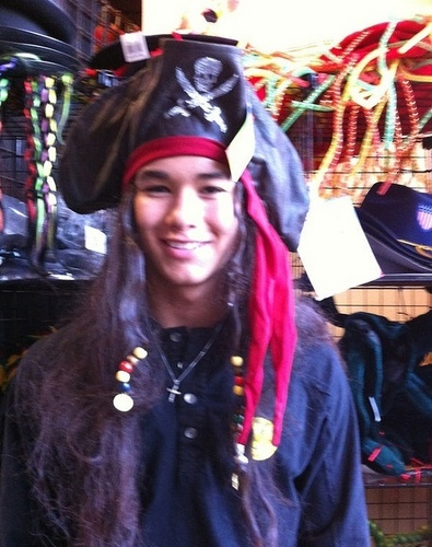 Booboo Stewart from the twitter