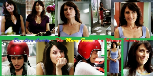 DR. LISA CUDDY AND THE MANY FACES OF A WOMAN INLOVE..