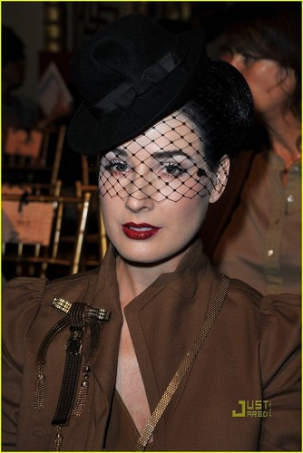 Dita Von Teese: John Galliano Gorgeous
