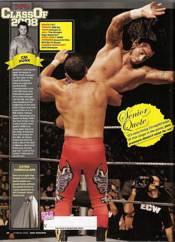 WWE Magazine Superstar Yearbook 2008