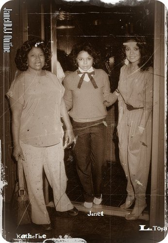 janet & her family <3 (RARE PICTURE)