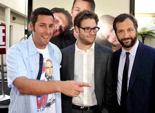 Adam Sandler, Seth Rogen & Judd Apatow @ Funny People Premiere - 2009