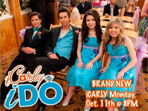 MONDAY, October 11th.... We've got a NEW iCarly and someone's getting married! Watch iDo on Nick!