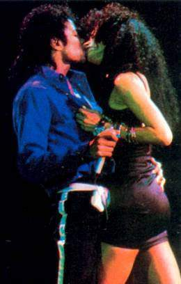 Michael kisses Tatiana~