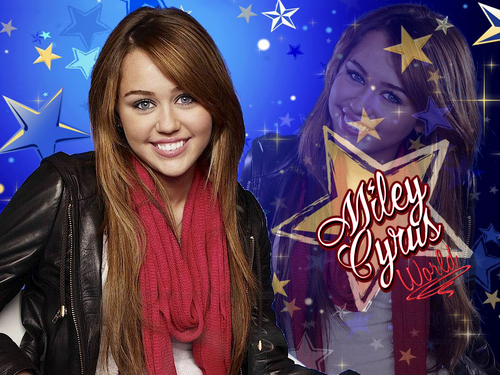 Miley World (New Series) wallpaper 2 as a part of 100 days of hannah oleh dj!!!!!!!!!