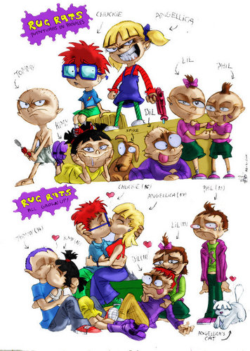 Rugrats Before and After